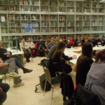 workshop participants and audience